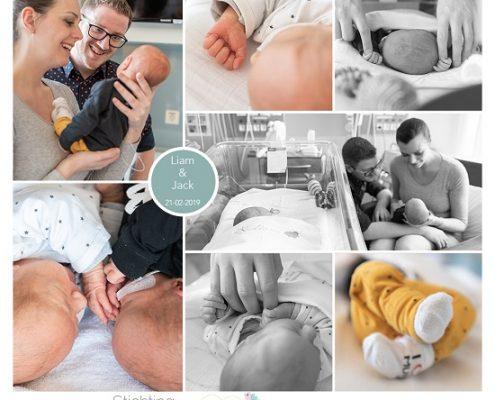 Liam & Jack prematuur geboren met 35 weken, ALrijne Leiderdorp, tweeling, sonde