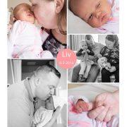 Liv prematuur geboren met 35 weken, Jeroen Bosch ziekenhuis gebroken vliezen, couveuse