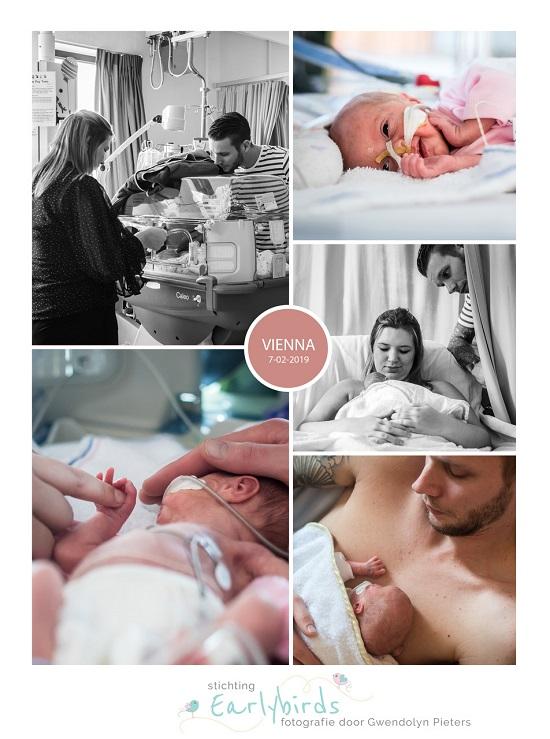 Vienna prematuur geboren met 30 weken en 2 dagen, AMphia, zwangerschapsvergiftiging, HELLP, spoedkeizersnede, buidelen, couveuse