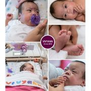 Vivyann prematuur geboren met 24 weken, vroeggeboorte, earlybird