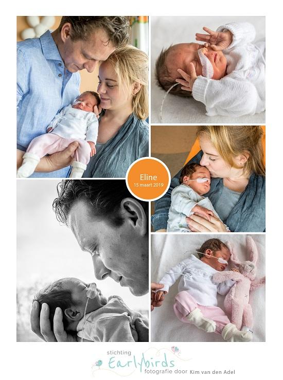 Eline prematuur geboren met 34 weken, couveuse, knuffelen, Tergooi Blaricum, sonde
