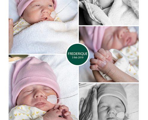 Frederique prematuur geboren met 29 weken, sonde, Rijnstate, vroeggeboorte