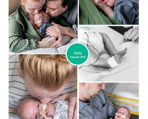 Joris prematuur geboren met 27 weken, Spaarne ziekenhuis Haarlem, borstvoeding, sonde