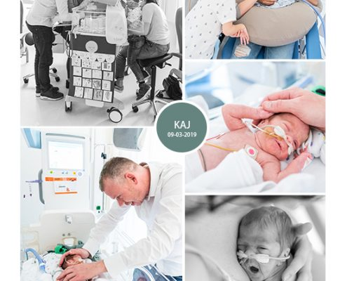Kaj prematuur geboren met 28 weken, Maasstad Rotterdam, MMC, couveuse, sonde, buidelen