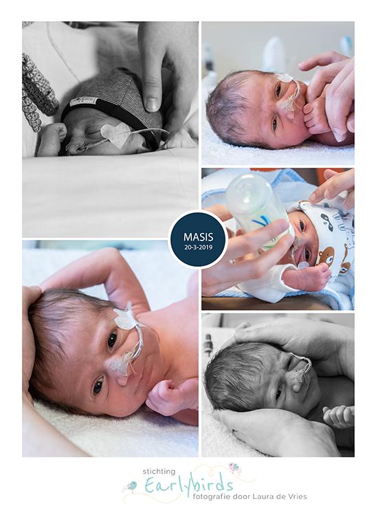 Masis prematuur geboren met 34 weken, sonde, St. Jansdal Harderwijk, dromenland