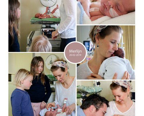 Merlijn prematuur geboren met 30 weken, couvesue, knuffelen, buidelen, borstvoeding, sonde