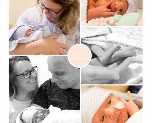 Roos prematuur geboren met 35 weken, zwangerschapsvergiftiging, borstvoeding, couveuse, billirubine, Isala Zwolle, sonde