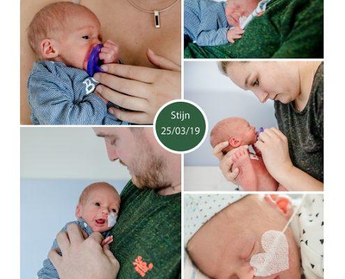 Stijn prematuur geboren met 32 weken, Elizabeth ziekenhuis, sonde, spoedkeizersnede, borstvoeding