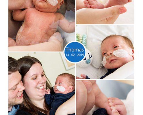 Thomas prematuur geboren met 29 weken en 3 dagen, Gelderse Vallei, flesvoeding, sonde, badderen