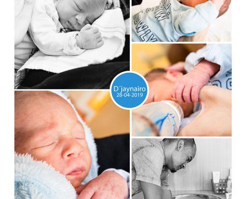 D´jaynairo prematuur geboren met 33 weken en 6 dagen, St. Anna ziekenhuis, spoedkeizersnede
