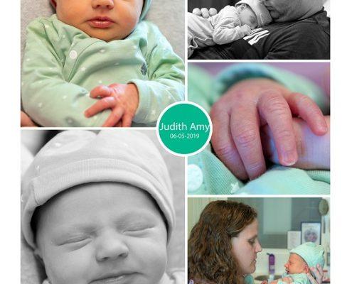 Judith prematuur geboren met 35 weken, Nij Smellinghe, vroeggeboorte