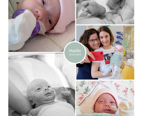 Maëlle prematuur geboren met 30 weken, Rijnstate Arnhem, groeiachterstand, longrijping, HELLP, spoedkeizersnede, sonde