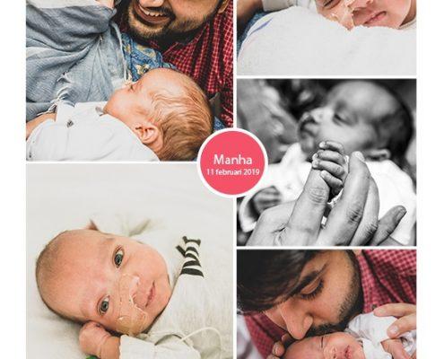 Manha prematuur geboren met 25 weken en 5 dagen, borstvoeding, earlybirdje, vechtertje