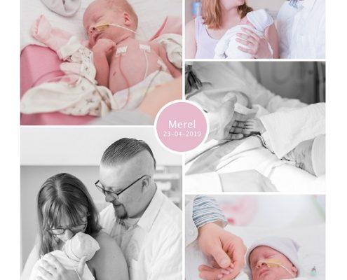 Merel prematuur geboren met 33 weken, Ikazia ziekenhuis, sonde, zwangerschapsvergiftiging, keizersnede