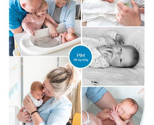 Pim prematuur geboren met 33 weken, WKZ, Groene Hart ziekenhuis, sonde