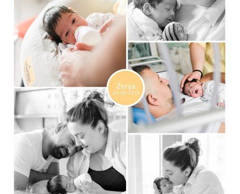Zerya prematuur geboren met 30 weken, Maasstad ziekenhuis, knuffelen, gebroken vliezen, weeenremmers