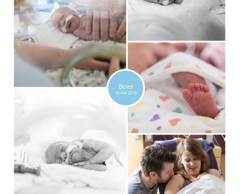 Boas prematuur geboren met 26 weken en 5 dagen, MMC Veldhoven, couveuse, optiflow, sonde, buidelen, longrijping