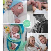 Hidde prematuur geboren met 29 weken en 3 dagen, sonde, St. Antonius, zwangerschapsvergiftiging, HELLP