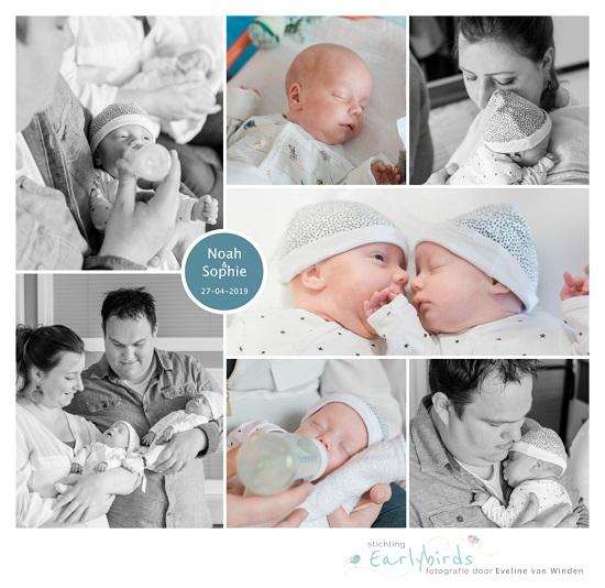 Noah & Sophie prematuur geboren met 31 weken en 3 dagen, HMC Westeinde, tweeling, couveuse