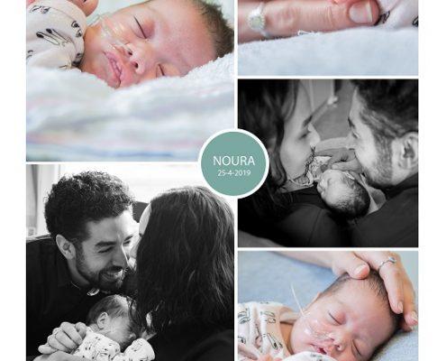 Noura prematuur geboren met 30 weken, Lange Land ziekenhuis, LUMC, JKZ, sonde