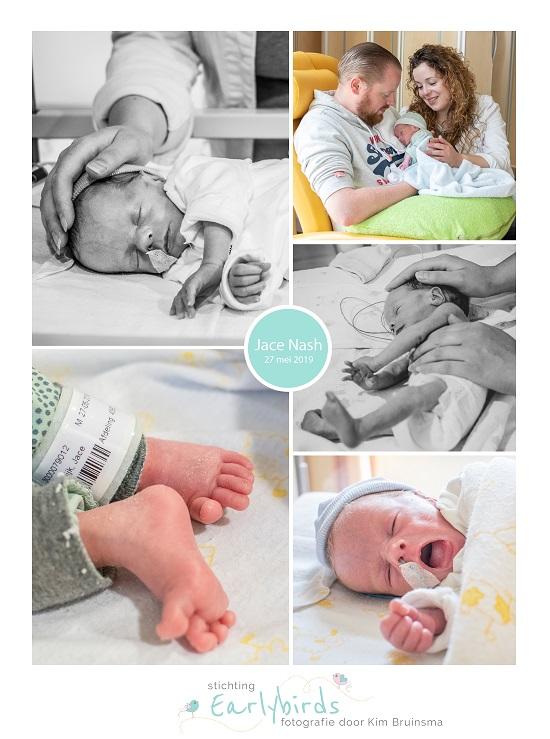Jace Nash prematuur geboren met 33 weken, Isala Zwolle, zwnagerschapsvergiftiging, spoedkeizersnede, sonde, diabetes, longrijping, couveuse