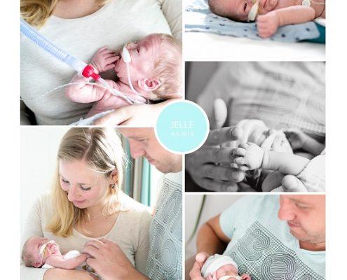 Jelle prematuur geboren met 29 weken, Reinier de Graaf, couveuse, sonde, buidelen