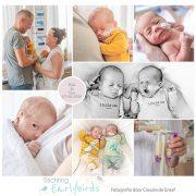 Kiki & Yara prematuur geboren met 34 weken, tweeling, stuitligging, keizersnede, gebroken vliezen, MST Enschede, weeenremmers, longrijping, couveuse, sonde