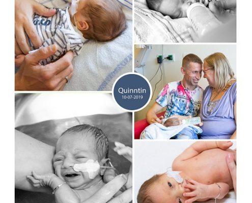 Quinntin prematuur geboren met 34 weken en 6 dagen, gebroken vliezen, Radboud UMC, sonde, knuffelen