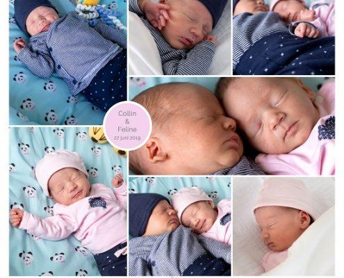 Collin & Feline prematuur geboren met 34 weken, tweeling, Laurentius ziekenhuis Roermond, sonde
