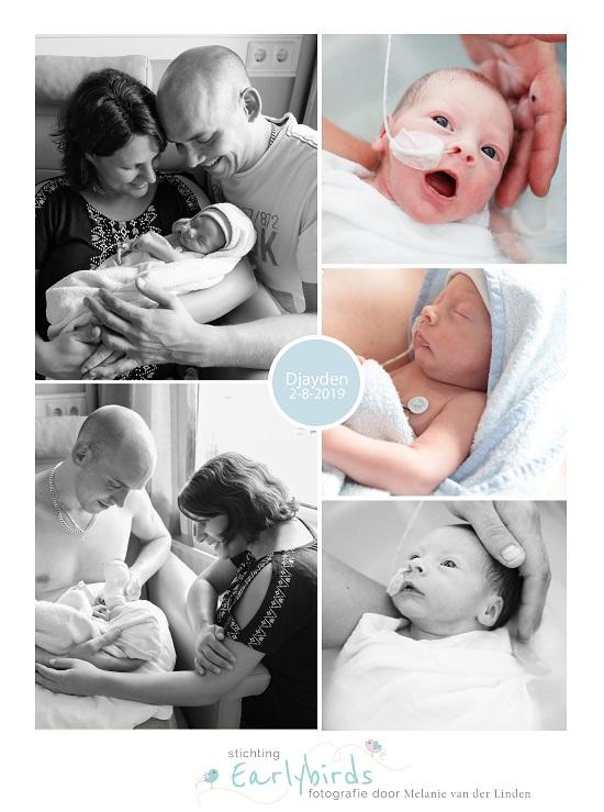Djayden prematuur geboren met 32 weken en 5 dagen, Treant Scheper Emmen, sonde, buidelen