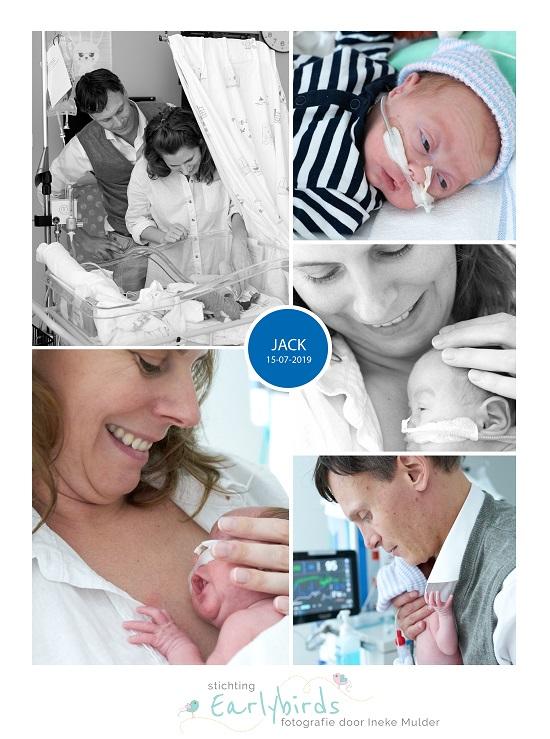 Jack prematuur geboren met 29 weken en 6 dagen, placenta praevia, keizersnede, NICU, sonde