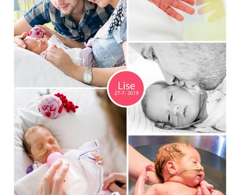 Lise prematuur geboren met 32 weken, St. Jans Gasthuis Weert, vroeggeboorte, weeenremmers