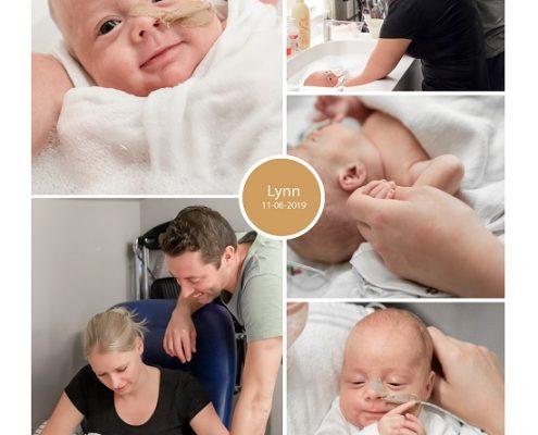 Lynn prematuur geboren met 28 weken, Bravis, Mallorca, sonde, badderen