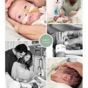 Naut prematuur geboren met 28 weken en 5 dagen, sonde, vroeggeboorte, Nairobi, vroege vogel