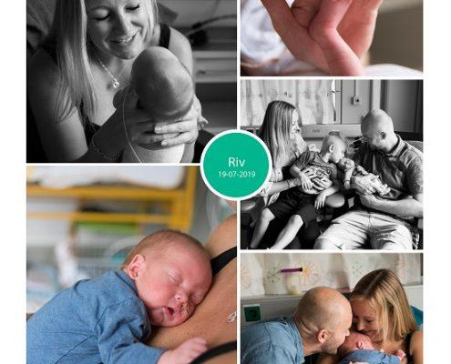 Riv prematuur geboren met 32 weken en 4 dagen, CTG, spoedkeizersnede, couveuse, sonde, Lange Land Ziekenhuis