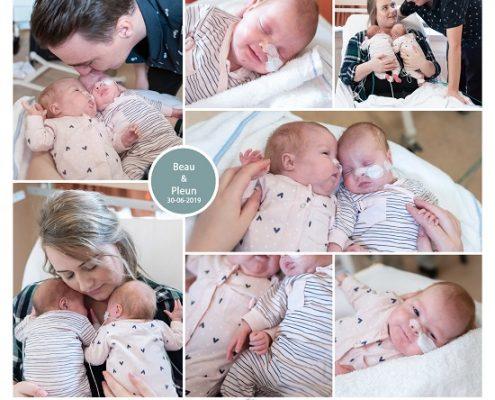 Beau & Pleun prematuur geboren met 26 weken en 5 dagen, tweeling, Amphia Breda, CTG, neonatologie, sonde