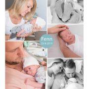 Fenn prematuur geboren met30 weken en 2 dagen, Radboud UMC, weeenremmers, longrijping, sonde