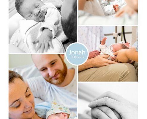Jonah prematuur geboren met 31 weken en 4 dagen, Isala Klinieken, gebroken vliezen, weeenremmers, longrijping, sonde, nicu