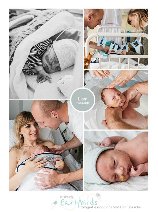Liam prematuur geboren met 31 weken, Groene Hart ziekenhuis Gouda, buidelen, weeenremmers, longrijping, NICU, couveuse