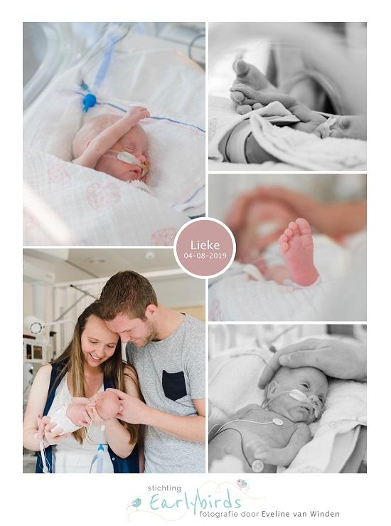 Lieke prematuur geboren met 29 weken, Reinier de Graaf, couveuse, spoedkeizersnede, knuffelen, sonde