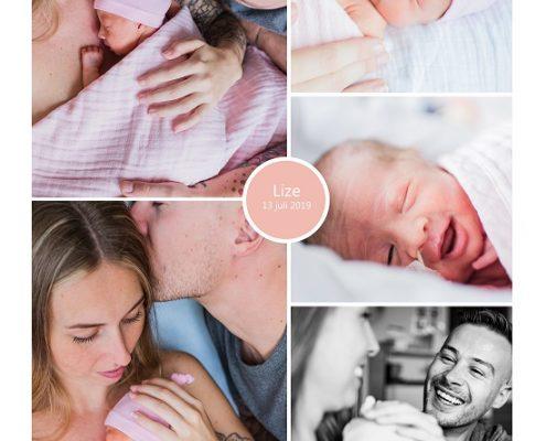 Lize prematuur geboren met 32+ weken, longrijping, weeenremmers, Isala Zwolle, buidelen, sonde