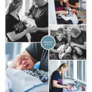 Mayson prematuur geboren met 34 weken, vroeggeboorte