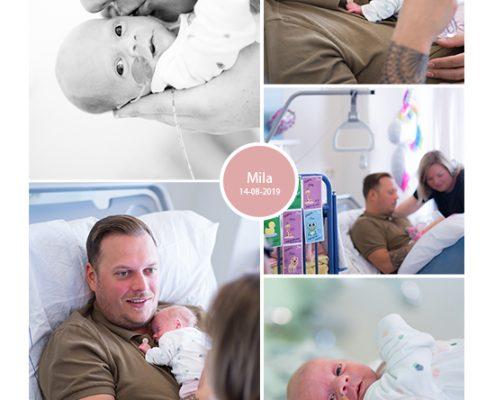 Mila prematuur geboren met 32 weken en 5 dagen, ZGT Almelo, longrijping, NICU, sonde