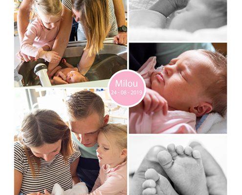 Milou prematuur geboren met 34 weken en 2 dagen, longrijping, weeenremmers, gebroken vliezen, couveuse, sonde, Gelderse Vallei