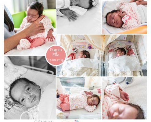 Ella & Damla prematuur geboren met 29 weken, tweeling, Spaarne Gasthuis, sonde
