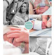 Jara Liesa prematuur geboren met 30 weken, HELLP, CPAP, sonde, buidelen