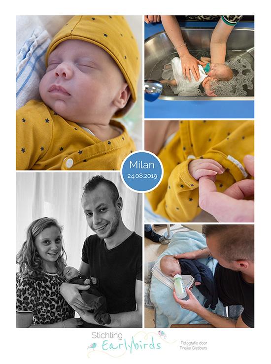 Milan prematuur geboren met 28 weken, MMC Veldhoven, NICU, NEC, Ronald McDonaldhuis, sonde, Diac Utrecht