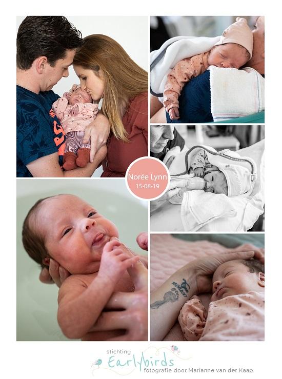 Norée prematuur geboren met 30 weken en 6 dagen, OZG Scheemda, UMCG, weeenremmers, longrijping, sonde