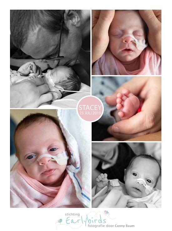 Stacey prematuur geboren met 27 weken en 5 dagen, Amphia Breda, longrijping, kroelen, sonde