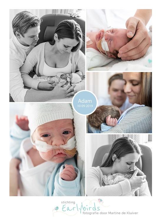 Adam prematuur geboren met 27 weken en 6 dagen, weeen remmers, keizersnede, stuitligging, borstvoeding, Maasstad ziekenhuis
